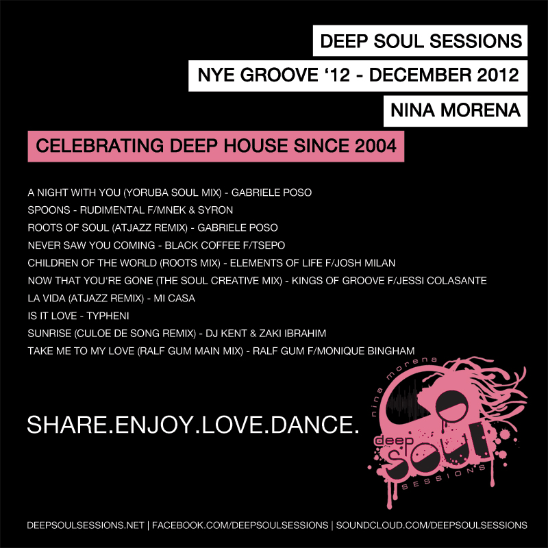Deep Soul Sessions NYE 2012